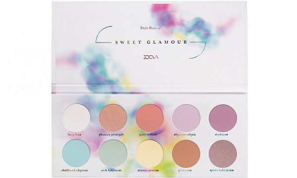 ZOEVA  SWEET GLAMOUR COLLECTION