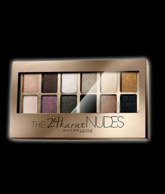 Maybelline The 24Karat Nudes Palette