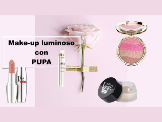 Video tutorial Trucco luminoso con Pupa