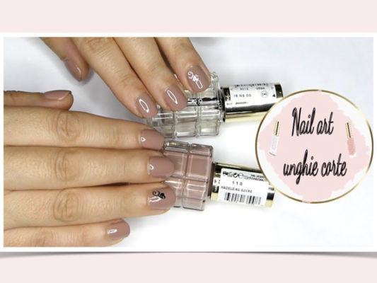 Video Tutorial Nail Art Unghie Corte