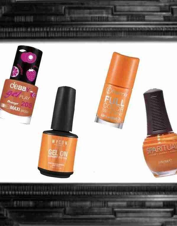 Arancione Graffiante: Accende La Manicure Primaverile
