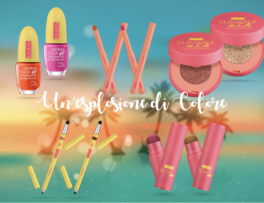 Summer in L.A Make up Collection di Pupa