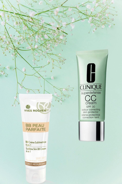 Due Creme multi funzione che combinano Skincare e Make up