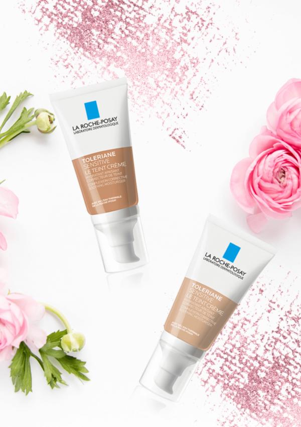 Fondotinta per pelli sensibili: La Roche-Posay Toleriane Sensitive Le Tenit Crème