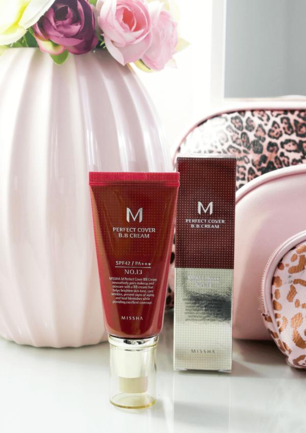 Missha M Perfect Cover BB Cream con fattore di protezione solare elevato ( SPF42)
