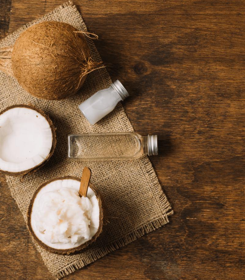 Crema corpo naturale all'olio di cocco