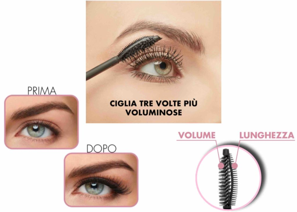 Mascara My Power Volume Deborah Milano