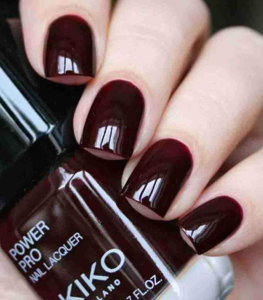I migliori smalti per unghie colore bordeaux