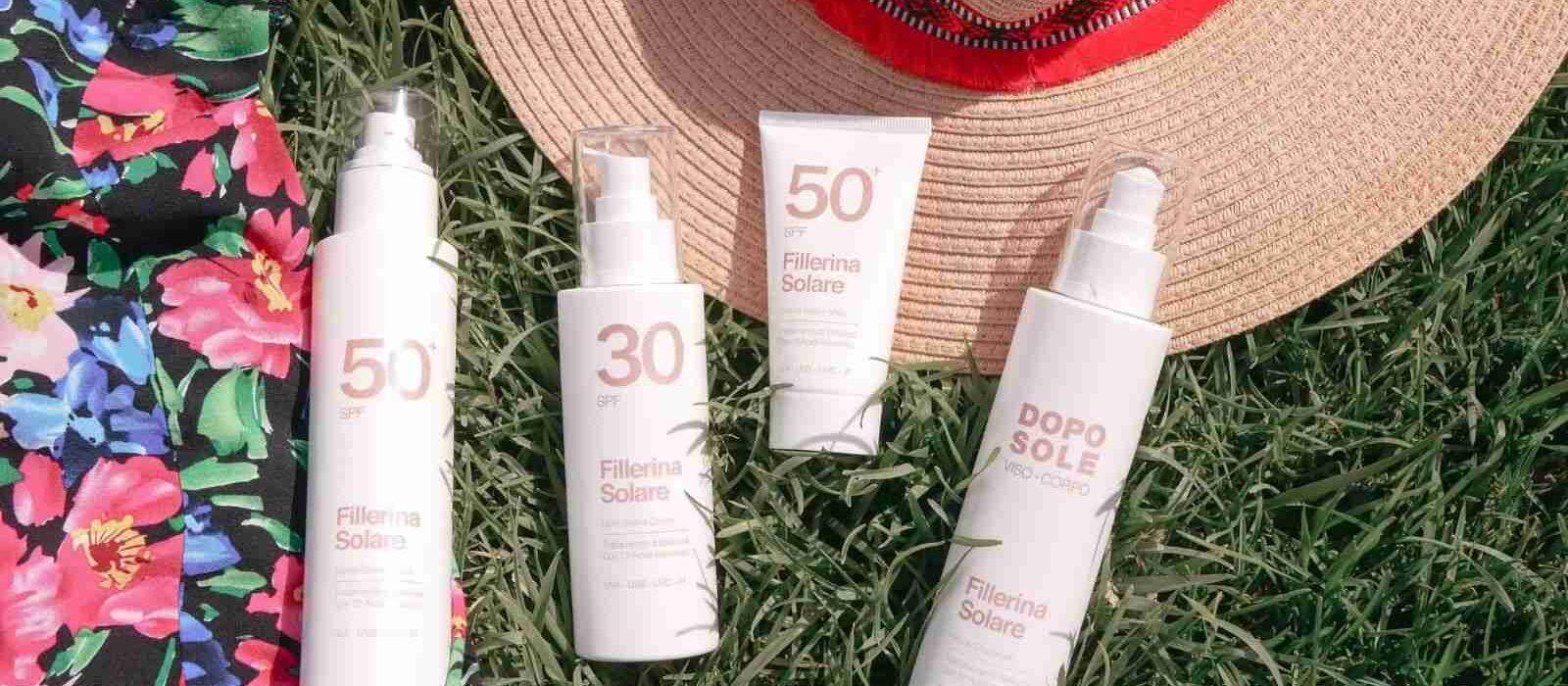 Fillerina Solare trattamento di bellezza sotto il sole di Labo Suisse